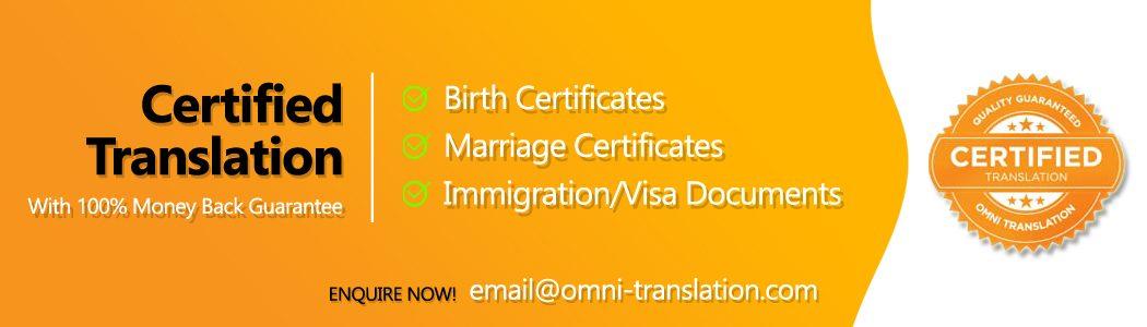 Certified Translation Service. Malaysia